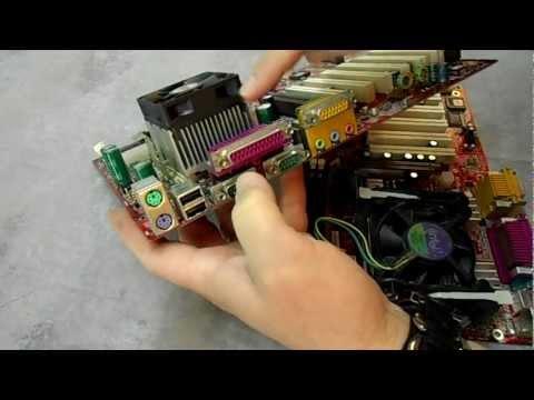 Computer Processor and Fan Maintenance