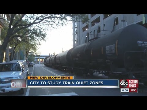 Tampa approves $90K study for train 'quiet zone'