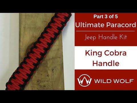 Ultimate Paracord Jeep Handle Kit-Part 3 – King Cobra Grab Handle