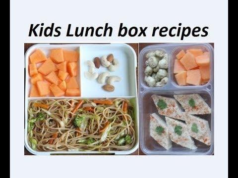 बच्चों की पसंदीदा लंच बॉक्स रेसिपीज /kids easy lunch box recipes by Raks HomeKitchen