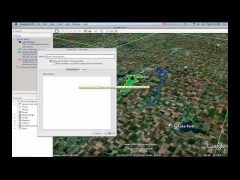 6- Folders [Google Earth Tutorial]