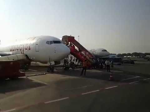 Indigo Bus Service At Indira Gandhi Airport 1D