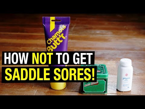 How NOT to get Saddle Sores (and What to Do if You Do)!