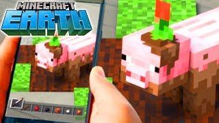 MINECRAFT: EARTH! Новая игра от создателей Minecraft