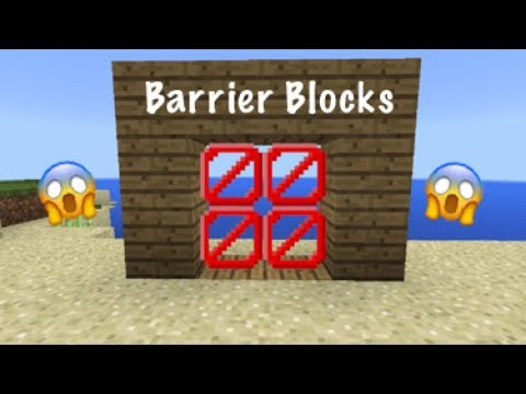 HOW TO GET BARRIER BLOCKS IN MCPE 1.2+ | MrSlimeGuy
