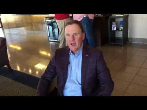Arkansas Head Football Coach Chad Morris Interview