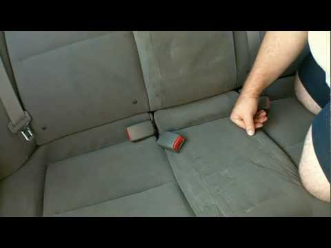 Civic Rear Seat Bottom Removal and Cover Install