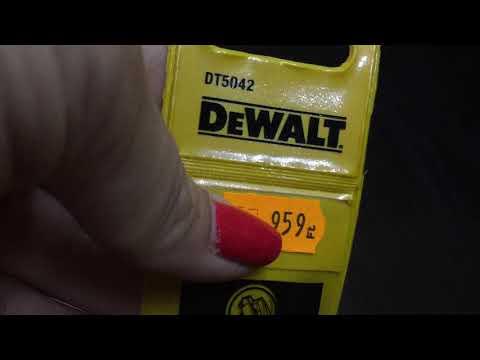 DeWALT DT 5042 - DeWALT fémfúró - DeWALT bolt Budakeszi