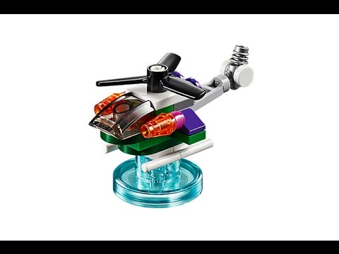 The Joker's Chopper (how to build) | LEGO Dimensions 71229