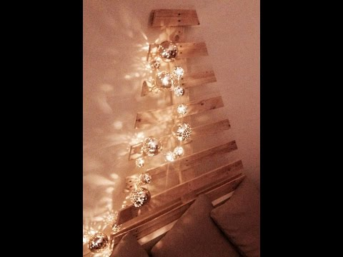 How to Make a Christmas Tree with Pallet Wood