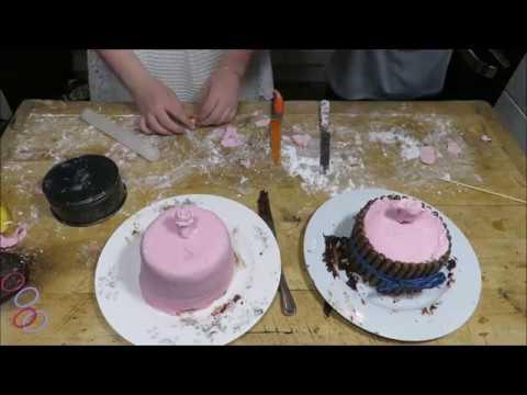 How To Decorate A Cake. Cake Decoration. Daisy Duke.