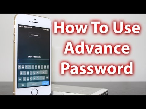 How To Advance Password Protect iPhone, iPad and iPod Touch - Secure Passcode