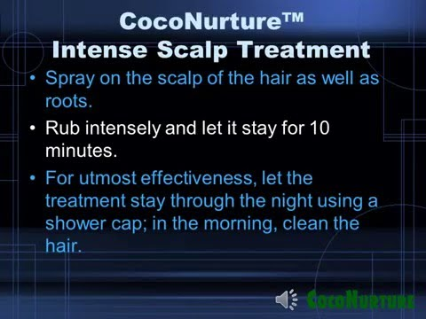 Coconut oil for hair and itchy scalp solution
