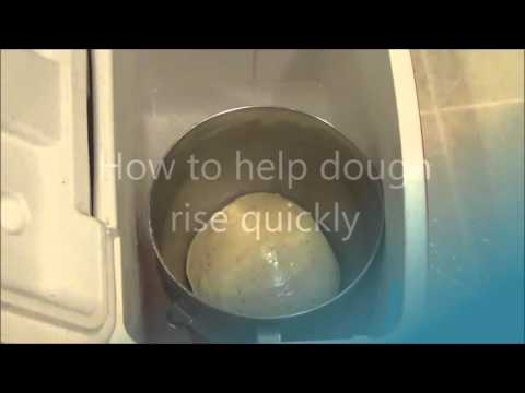 How to help your dough rise quickly! (For bread baking, pizza dough etc) by Resourceful Mama