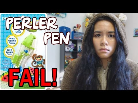 Perler Bead Pen FAIL! My first impressions