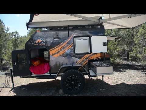 Off Grid trailers overlander build     Expedition trailer, off road camper