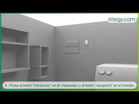 Instalación medidor de consumo eléctrico Efergy E2 y Efergy Elite
