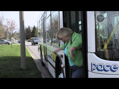 Getting Around on Pace: Part 4 - Getting Off Of The Bus