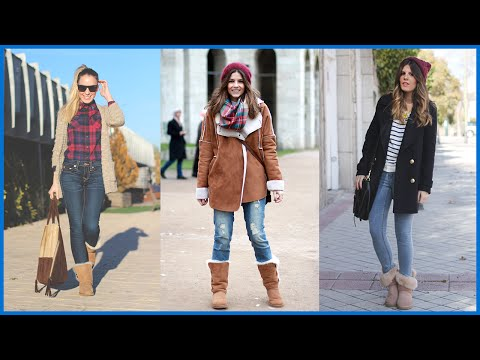 How to Wear Ugg Boots - Outfit Ideas