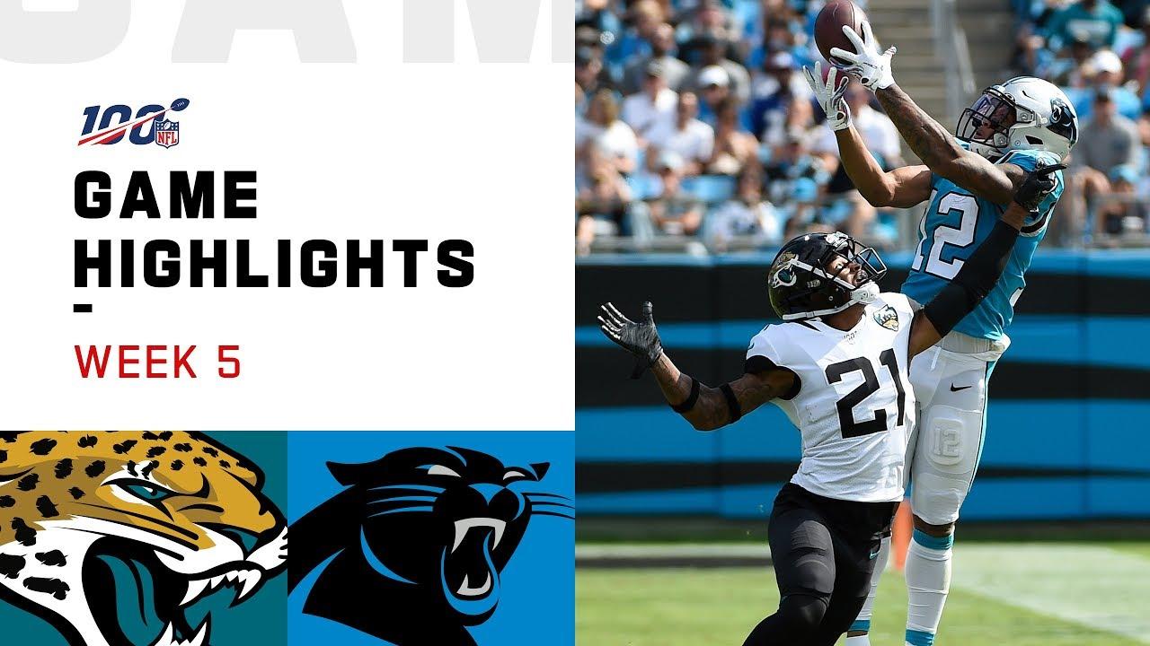 Jaguars vs. Panthers Week 5 Highlights | NFL 2019