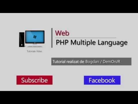 Tutorial web - PHP Multiple Language Translation