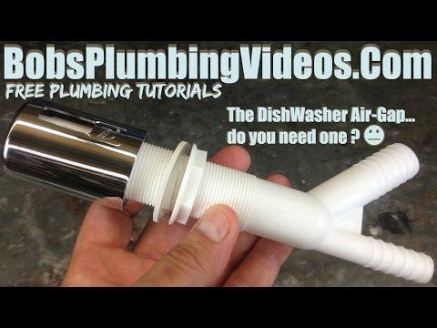 Dishwasher Air Gap-Do You Need One?