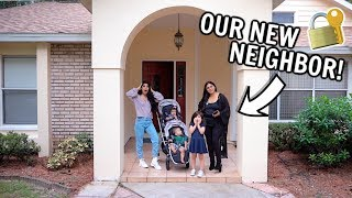 BOUGHT MY MOM A NEW HOUSE!!! *MEET OUR NEW NEIGHBOR!*