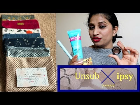 Do you Want to know why I unsubscribed IPSY Glam Bag?