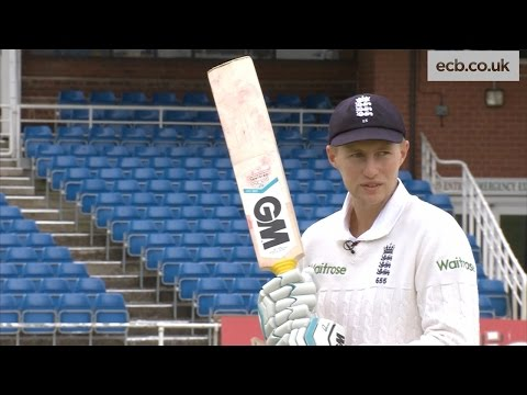 England cricket star Joe Root gives tips on batting - Investec Test Series
