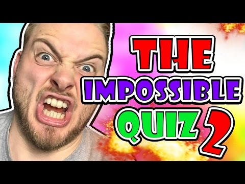 WHY DID I PLAY THIS?! - THE IMPOSSIBLE QUIZ 2!