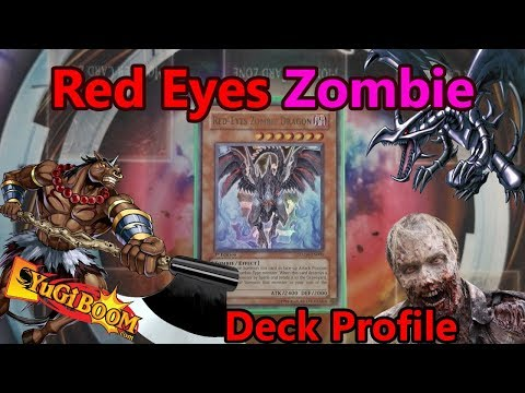 Yu-Gi-Oh! *AWESOME* Red Eyes Zombie Deck Profile - May 2018 - Red Eyes with Zombie Synchros!