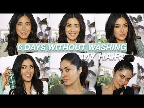 How to Not Wash Your Hair for a Week | Melissa Alatorre