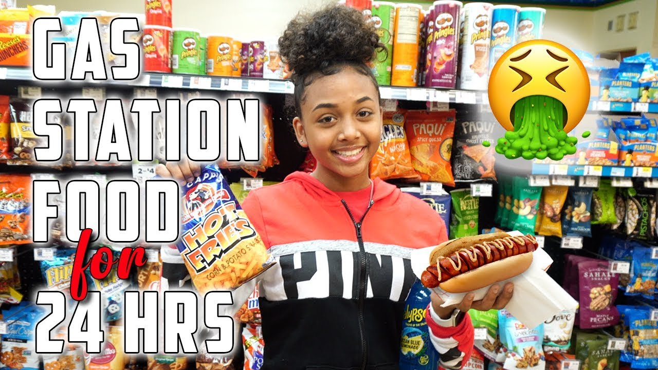 I Only Ate Gas Station Food for 24 Hours | LexiVee03