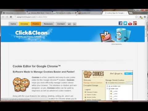 Cookies Chrome add-on