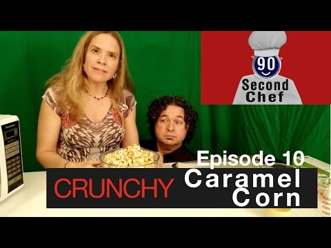 Easy Crunchy Caramel Corn No Bake