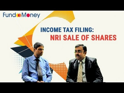 Income Tax Filing: NRI Sale of Shares