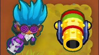 Bloons TD Battles: Round 4 Temple! | Beating ISAB's World