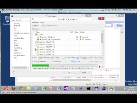 How to Install Android SDK on Windows 8