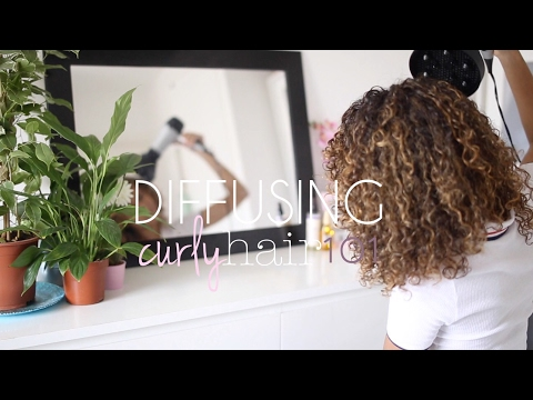 How To: Diffuse Curly Hair Without Frizz!
