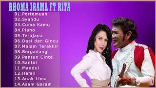 Rita Sugiarto Feat Rhoma Irama pasangan yang sempurna 2018 | Pilihan Lagu Duet Dangdut Terbaik
