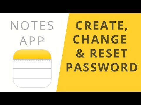 Password Protect your NOTES!