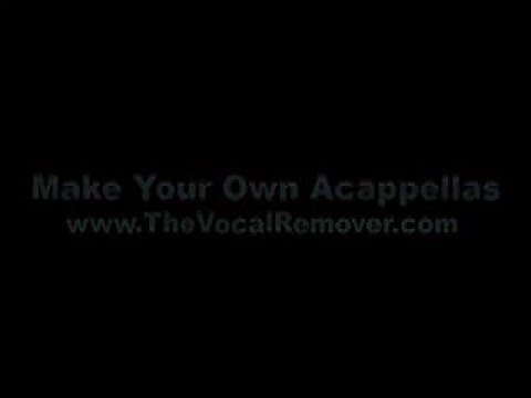 How to Make an Acapella | How to make your own Acappella