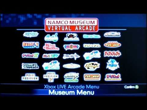 Review of Namco Museum Virtual Arcade for Xbox 360 by Protomario