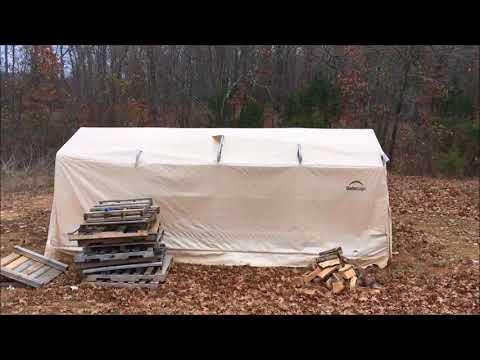 Shelter Logic 3 Year Follow Up ~ AutoShelter 1020