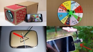 4 Amazing DIY Ideas You Can Make at Home - Cardboard DIY Projects
