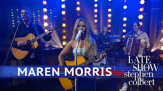 Maren Morris Performs A Song For Everything