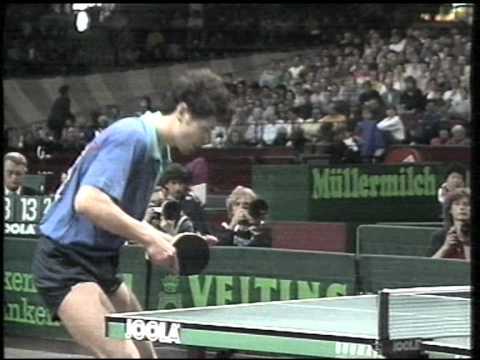 jan ove waldner zoran primorac european table tennis championship 1992