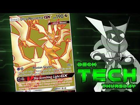 Ultra Necrozma GX Pokemon TCG Standard Deck Profile! | Deck Tech Thursday #95