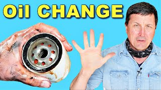 How To Change Your Oil (OFFICIAL Video Guide)