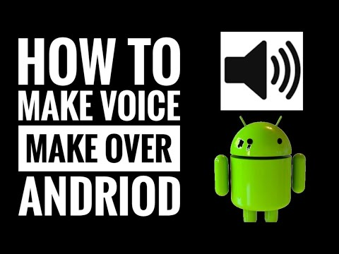 How to convert voice to ||Android|| from || text|| to voice